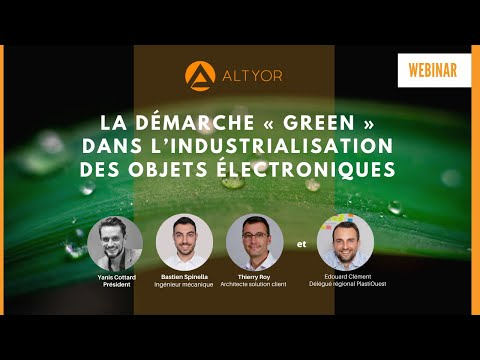 [WEBINAR] La démarche green dans l'industrialisation des objets électroniques