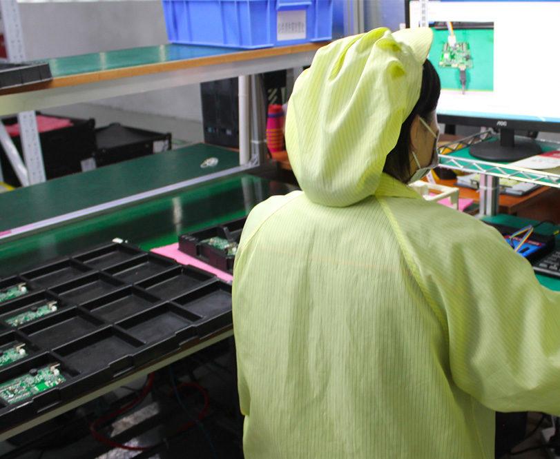 ligne production industrielle chine