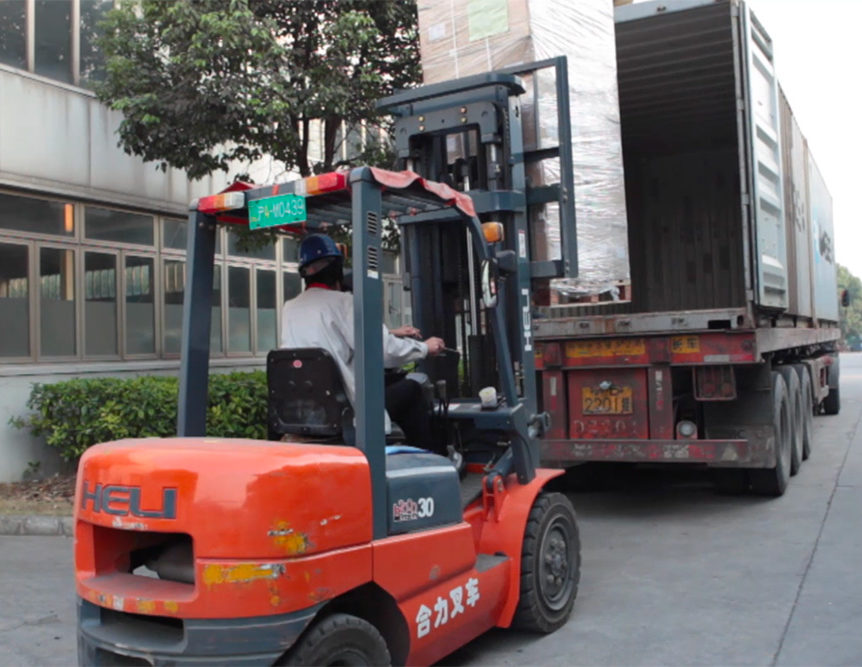 logistique stockage france chine
