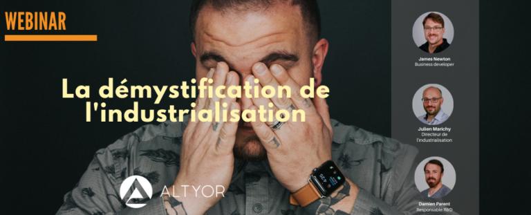 [WEBINAR] La démystification de l'industrialisation des objets connectés