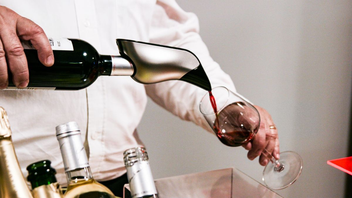 servir vin aéré