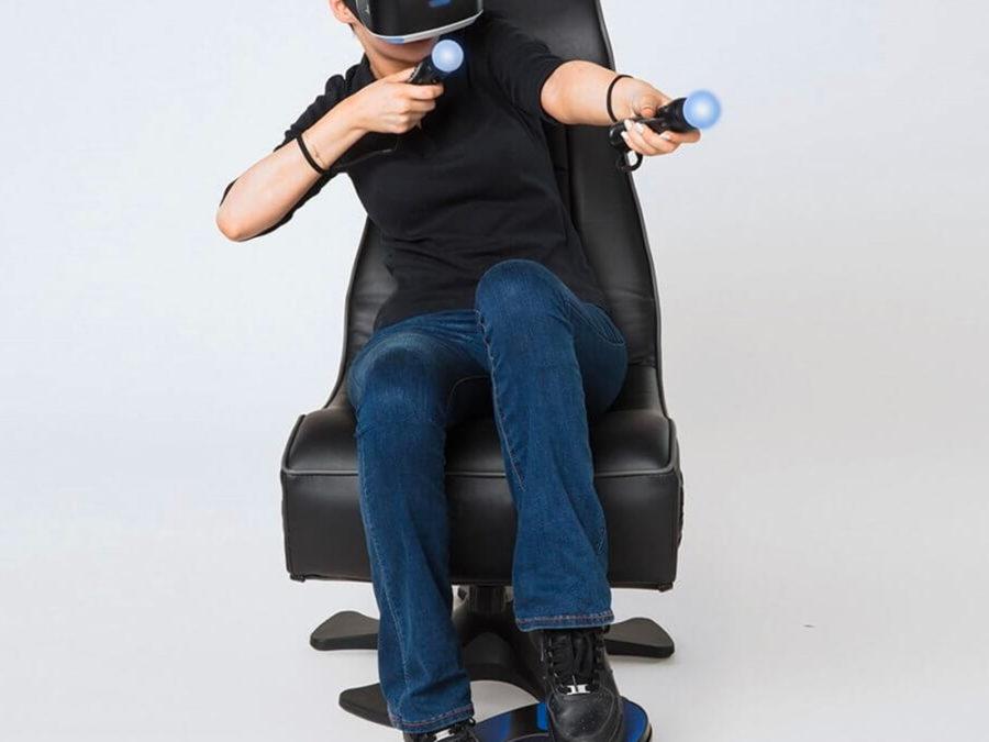 3d rudder gaming VR