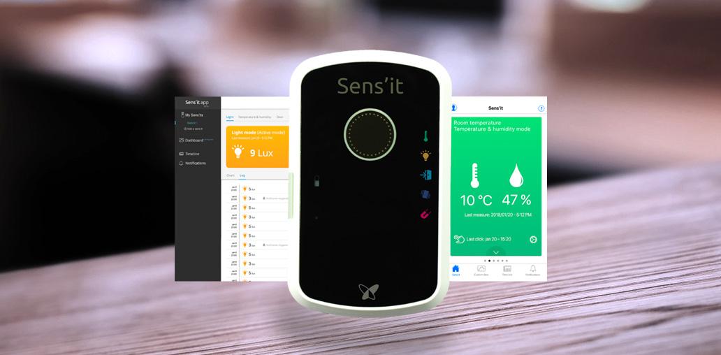 application sensit sigfox
