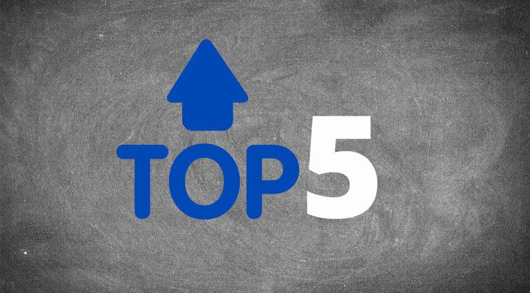 top 5 entreprise IoT
